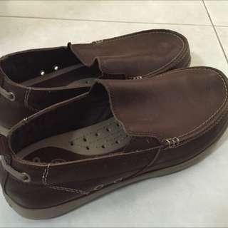 (Reserved) Crocs Men's Harborline Nubuck Loafer