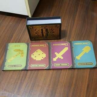 Preloved Minecraft Handbook Set