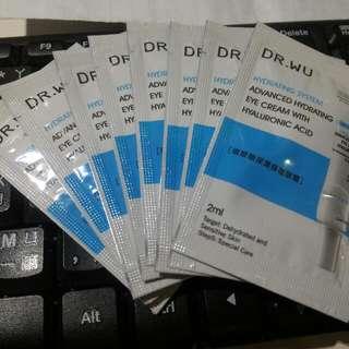 Dr.wu玻尿酸保濕眼霜10包