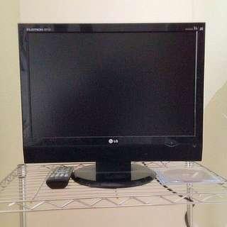 """LG 19"""" LCD TV Monitor"""
