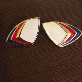 Earrings With Strips! (clasp)