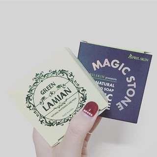韓國 Magic Stone 魔法石 灰皂