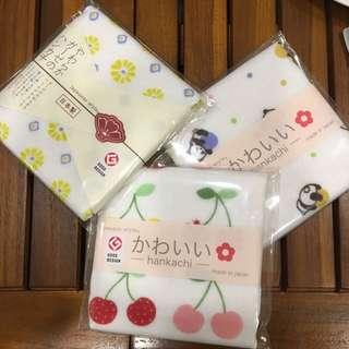 日本製 30*30小手帕