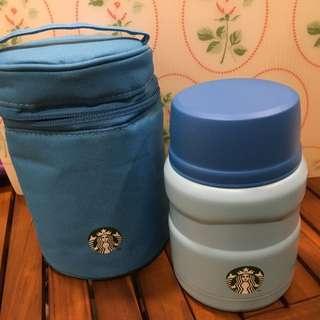 Starbucks 餐食罐+提袋