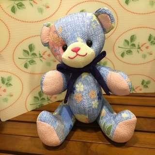 京都購入拼布小熊