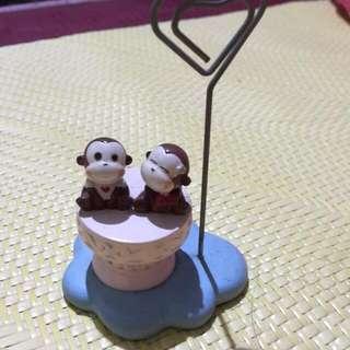 可愛猴子名片夾