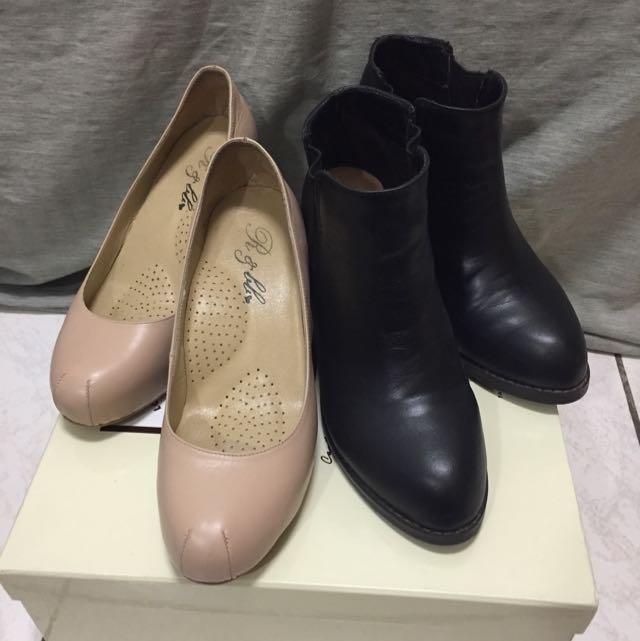 500元🔥高跟鞋/短靴/踝靴/平底鞋/二手伴娘鞋
