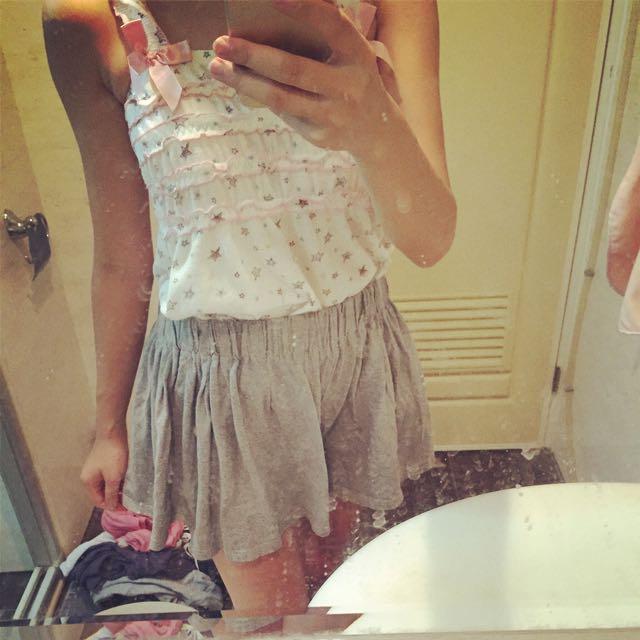 褲裙$60
