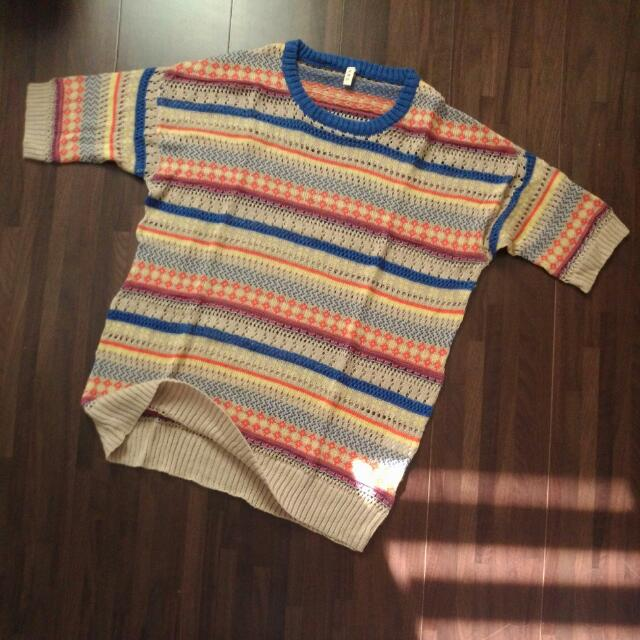 亮彩針織衫
