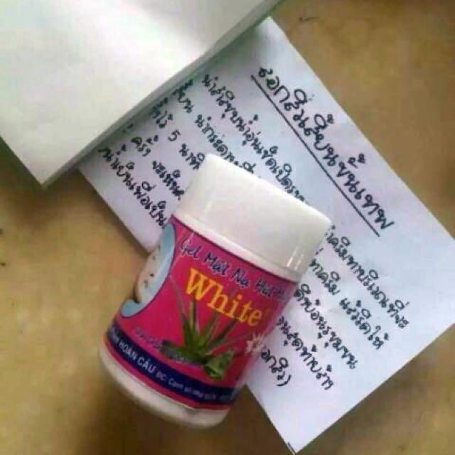 泰國粉刺蘆薈膠-泰國帶回,附專用紙49張