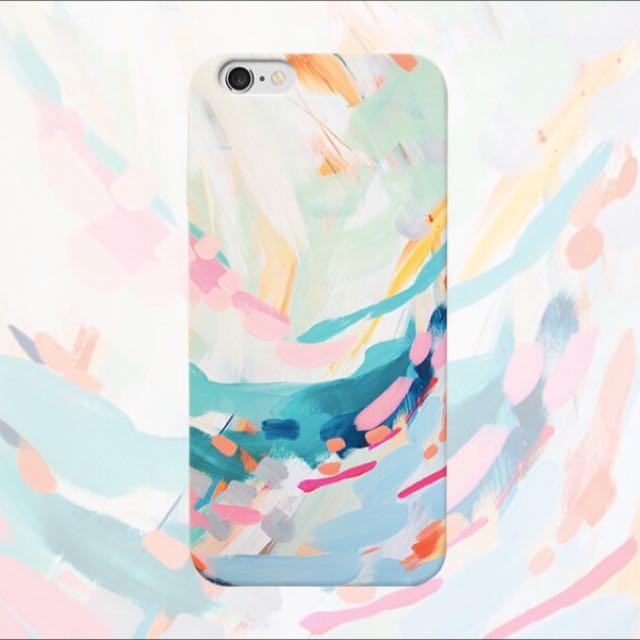 彩色塗鴉手機殼(IPHONE5~6S)