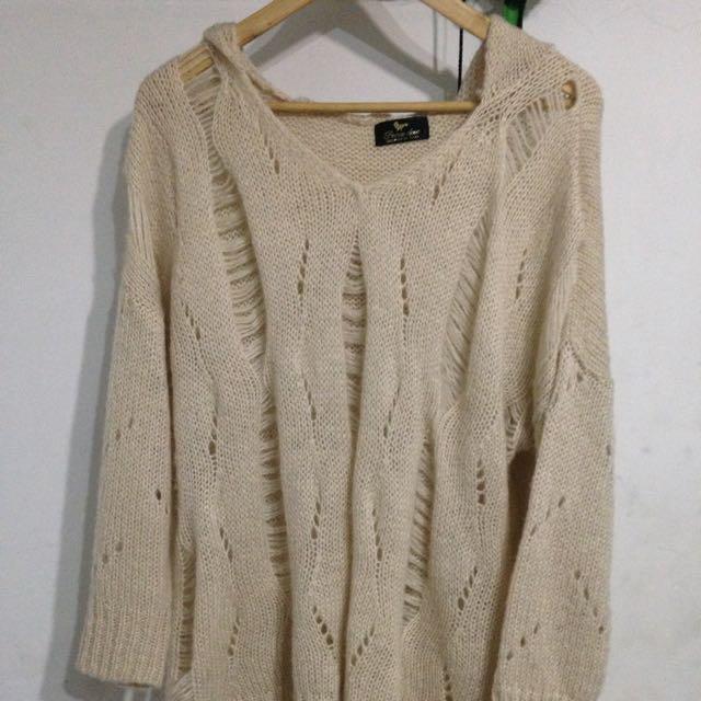 韓版設計款針織毛衣衫