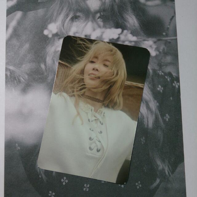 少女時代 太妍 Taeyeon Solo I 小卡