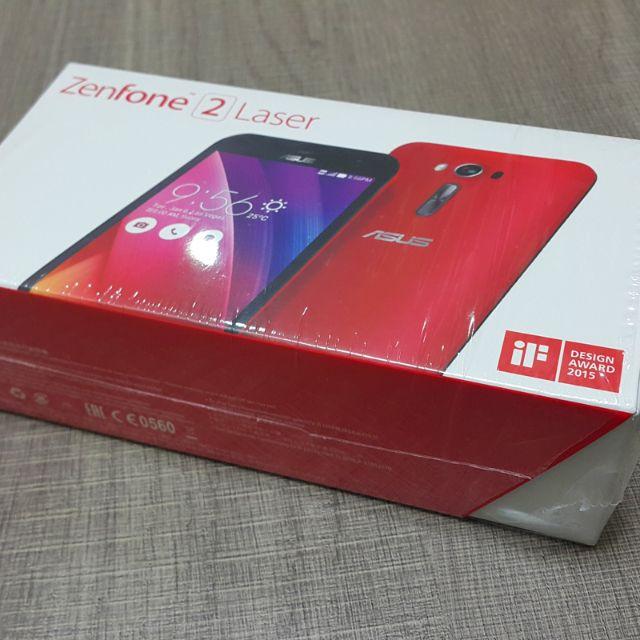 已售出~~華碩 ZenFone 2 Laser (ZE550KL)雷射自動對焦5.5吋2G/16G/4GLte八核心智慧型手機(免運)