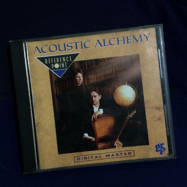 CD ACOUSTIC ALCHEMY// REFERENCE POINT.
