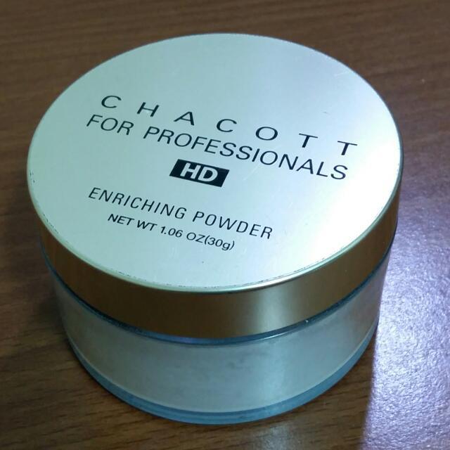 降!Chacott HD高解析保濕蜜粉 透明色