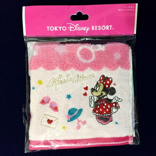 Disney米妮方巾
