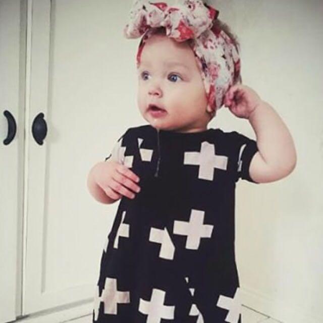 Cross Patterned Dress