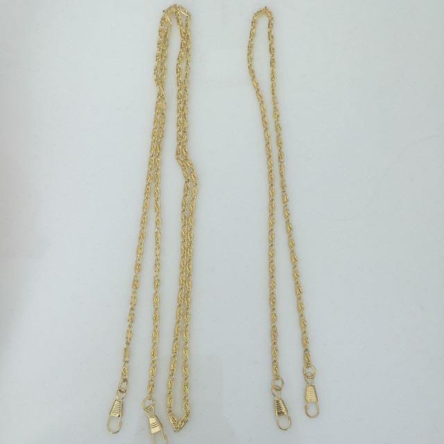Gold Evening Clutch Bag