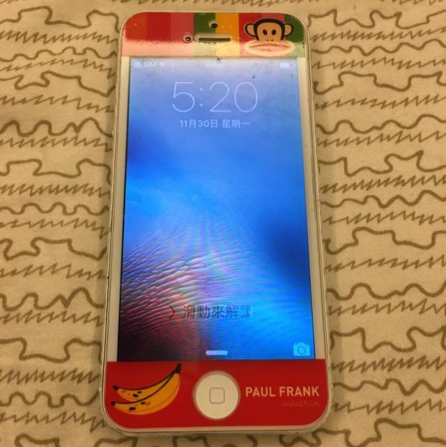 I Phone5 32G 銀色