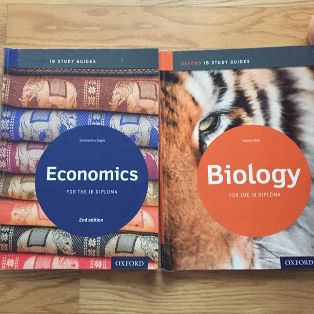 IB economics and biology study guides