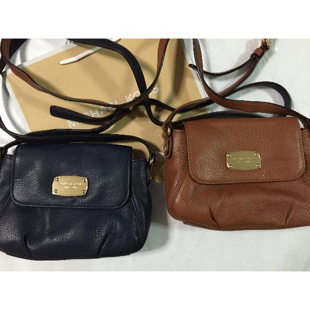57deffcf3b9a6b Michael Kors - Jet Set Small Flap Crossbody Leather, Women's Fashion ...