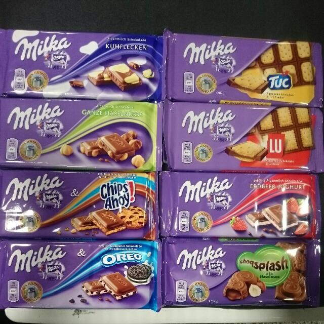 德國Milka妙卡 阿爾卑斯牛奶巧克力