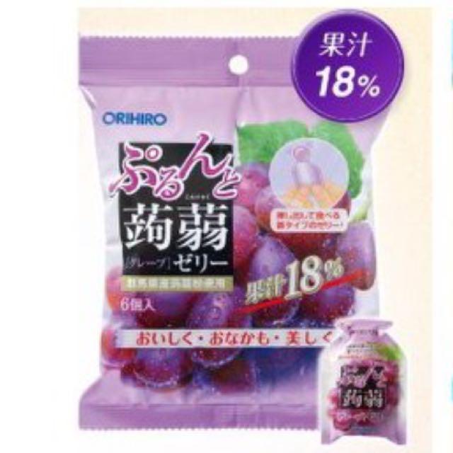 日本ORIHIRO葡萄蒟蒻 果凍