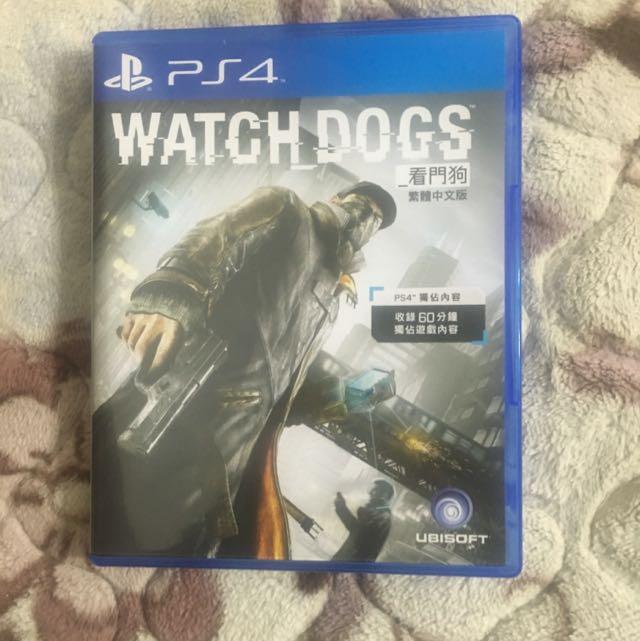 PS4 看門狗(亞洲中文)