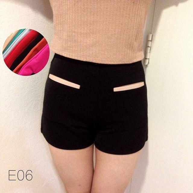 short stripe pants