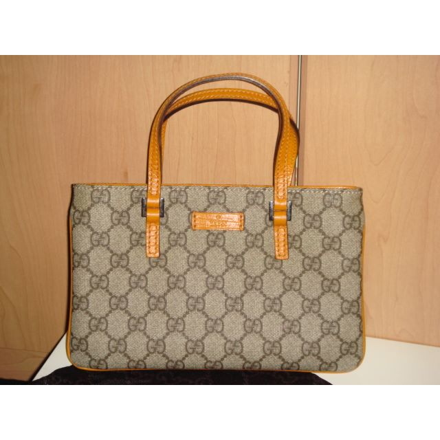 6504f91f77da17 Small Authentic Gucci Hand-carry Leather Envelope Bag Purse, Women's ...