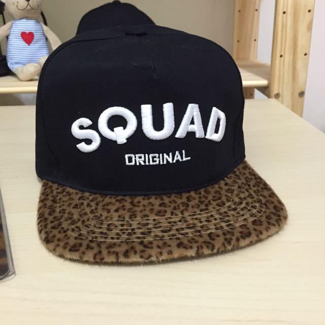 SQUAD帽子全新 / 有帽盒 (保留)