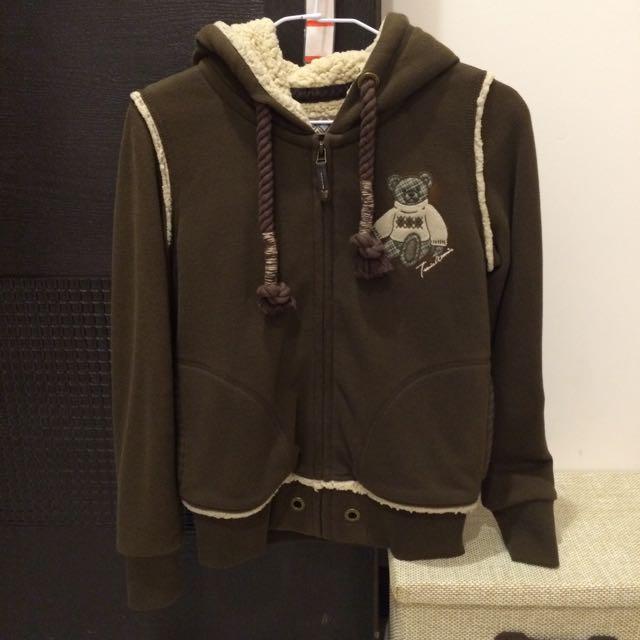 Teenie Weenie刷毛保暖外套