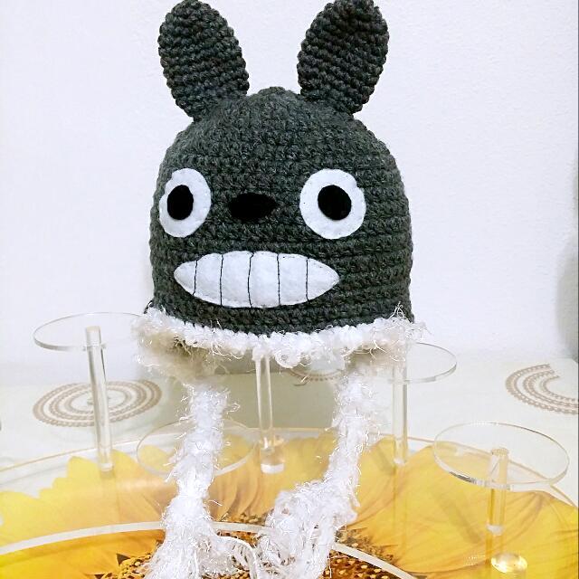 Totoro inspired (Crochet Baby Hat) 563d479d6b1