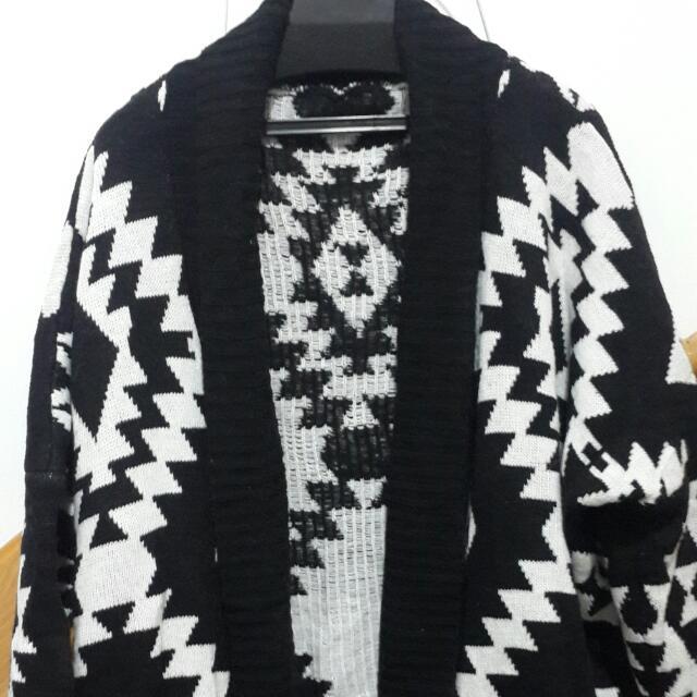 (已售出)vii&co針織長版外套