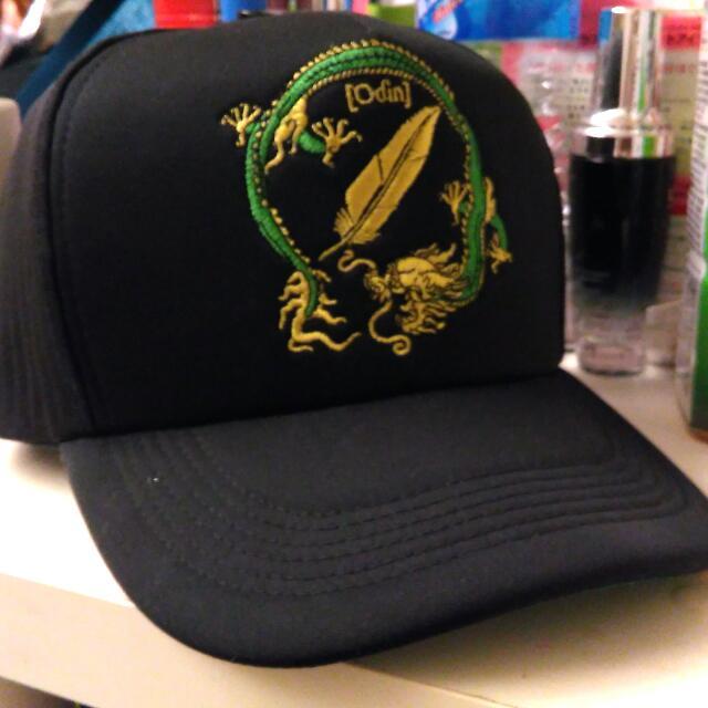 Woden 潮流 休閒 網帽 全黑綠 經典款 龍年紀念款 可調式