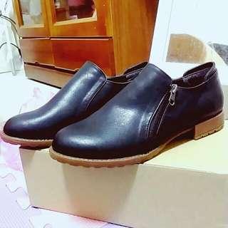 💖二手💖復古踝根平底鞋