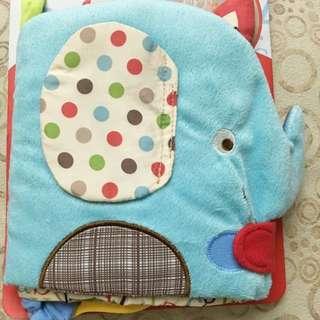 現貨 嬰兒大象布書 床圍