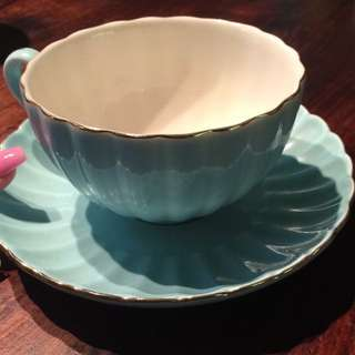 T2 Cup & Saucer