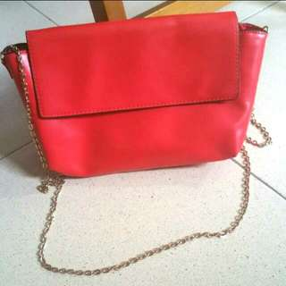 (Pending)Red H&M Chain Bag