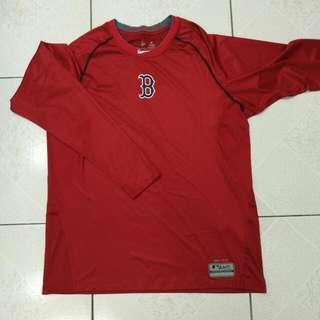 Boston Red Sox 大聯盟長袖排汗衣