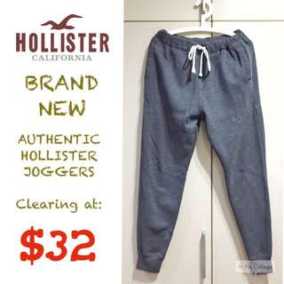 BRAND NEW Hollister Joggers