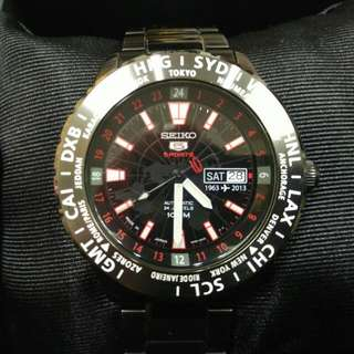 SEICO 盾牌5號日本精工50週年紀念機械錶