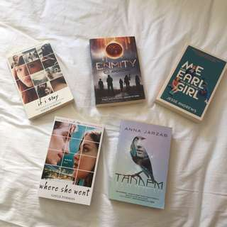 Adolescent Books $10 EACH