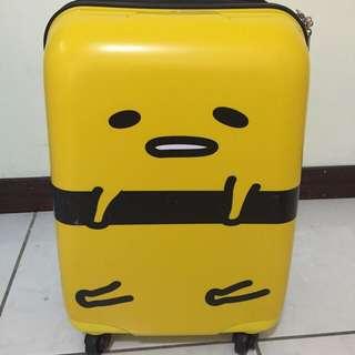 蛋黃哥行李箱 / 保留