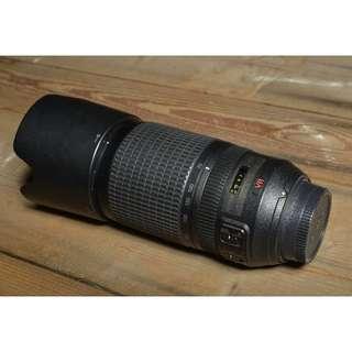 NIKON 70-300mm AF-S VR f/4.5-5.6G IF-ED