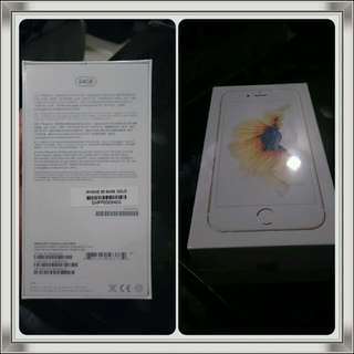 Apple IPhone 6S 64GB (Gold Colour)