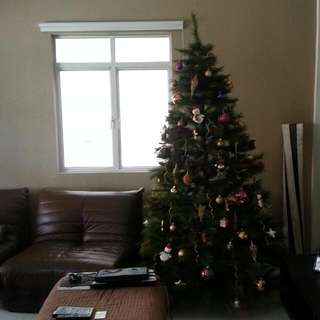 *Reserved - Still New 8ft Xmas Tree excluding accessories