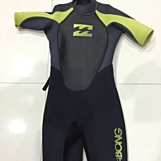 WTS: (Price Reduced) Billabong Thermal / Compression Children Wet-Suit