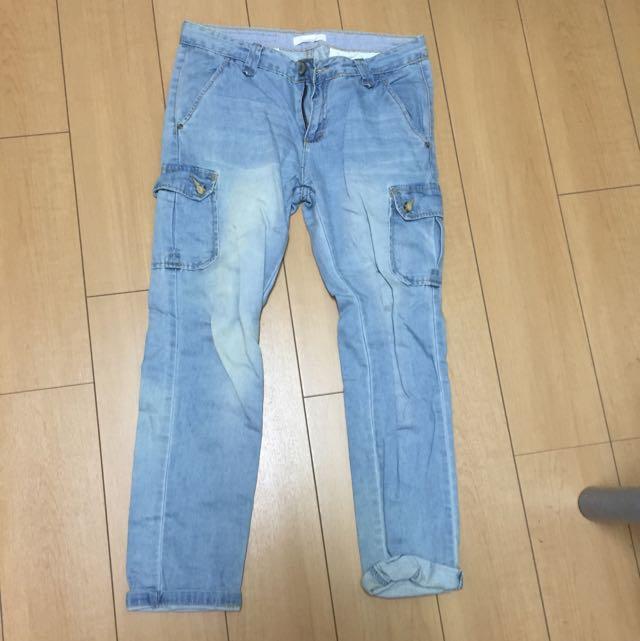 👖50%牛仔褲/s號26-27腰/穿過2次